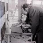 1960-11-07 Ondertekening brief voor koker Willibrordus
