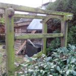 2013-11-25 Travalje in tuin Millingen aan de Rijn